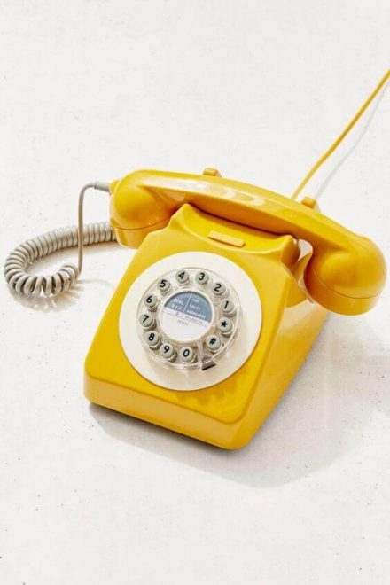 ABC Financial - a yellow telephone