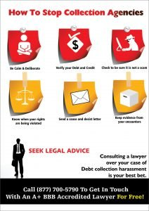 stop debt collectors