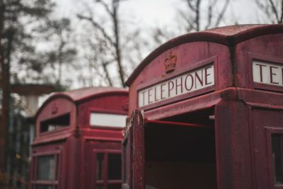 Benuck & Rainey- Red telephone booth