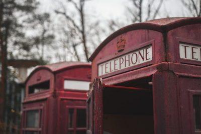 Benuck & Rainey- Red telephone booth