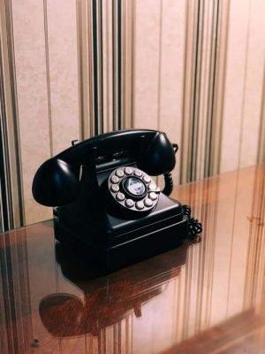 Citibank - a black telephone